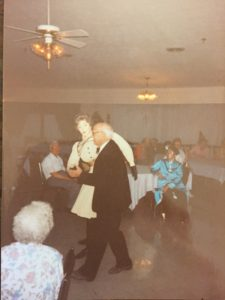 George and Tilly Dancing