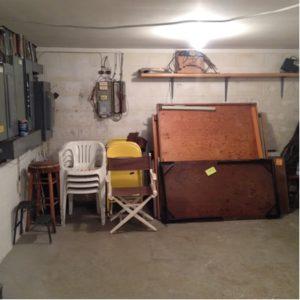 After basement
